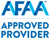 AFAA Approved Provider logo