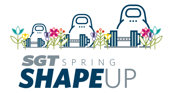 Small Group Training Spring Shape Up graphic