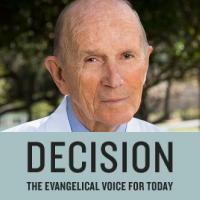 Dr. Kenneth Cooper headshot and Decision Magazine logo