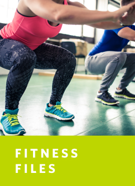 woman doing air squats