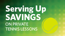 Special Holiday Private Tennis Lessons Package
