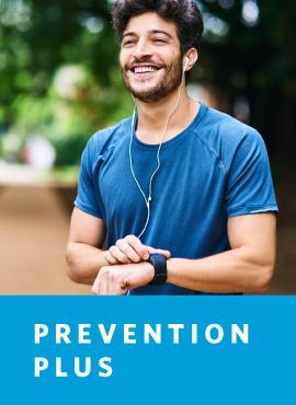man smiling while exercising