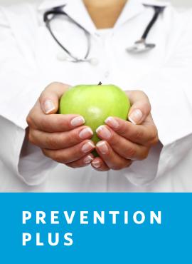 doctor holding apple