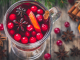 cranberry spice drink