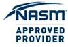 NASM Approved Provider logo