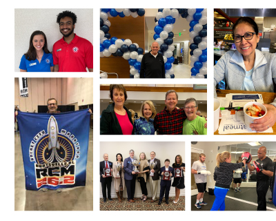 Our Community collage of photos from January 2020 programs and events