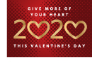 Cooper Spa Valentine's promotion graphic - give more heart this Valentine's Day