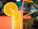 tropical orange drink
