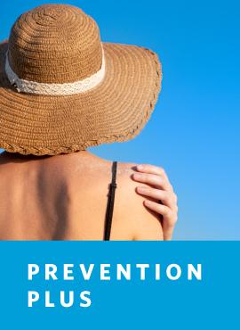 woman in sun hat