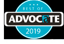 Advocate Best of 2019 logo