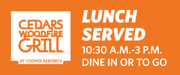 Lunch Served 10:30 a.m.-3 p.m. | Dine In or To Go