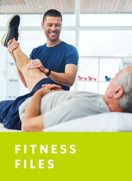 physical therapist with client