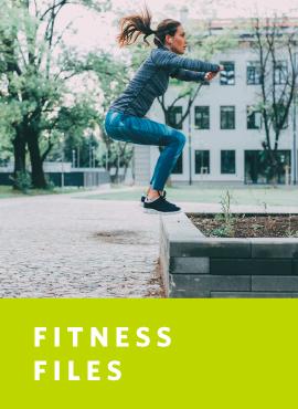 woman doing squat air jumps