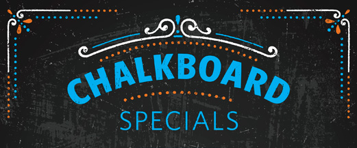 Chalkboard Specials graphic