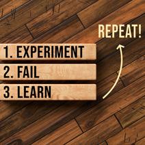 Experiment, Fail, Learn